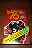 img - for NFL REPORT '76 book / textbook / text book