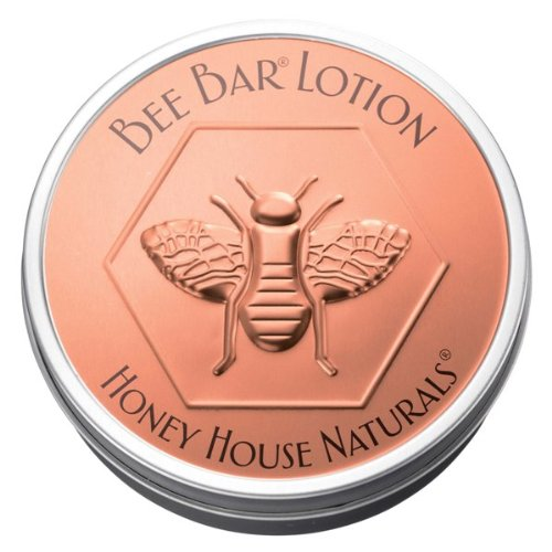 Bee Bar Lotion by Honey House Naturals - Vanilla Scent - Long Lasting Lotion Bar Moisturizes and Leaves Skin Smelling Fresh - 2 ounces