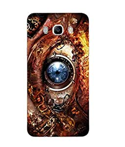 Snazzy Printed Multicolor Soft Silicon Back Cover For Samsung Galaxy J7 2016