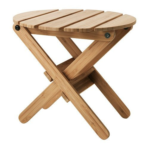 Wood Plant Stand Bamboo