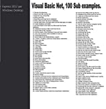 img - for Visual Basic Net, 100 Sub examples. book / textbook / text book