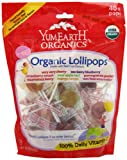 YumEarth Organic Lollipops, 8.5 Ounce Bag