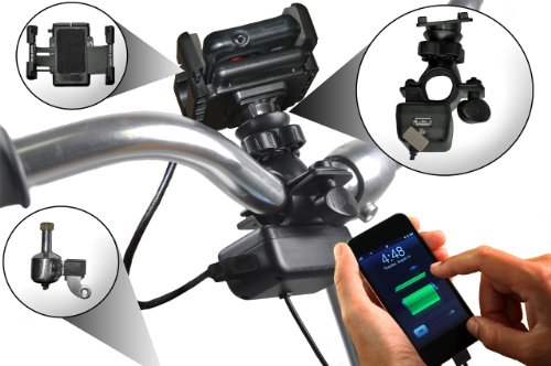 SpinPOWER S1 Smartphone Bicycle USB Charger KIT