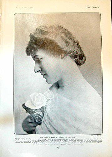 stampa-antica-dei-bambini-graziosi-rachel-kuhne-e-eccles-1904-della-chiatta-di-bellezza-di-jessie-ba