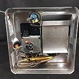 NEW SUBURBAN SW6PE 6 GALLON LP GAS ELECTRIC PILOT RV MOTORHOME TRAILER WATER HEATER WITH BLACK DOOR