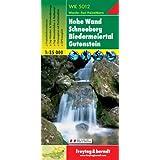 Freytag Berndt Wanderkarten, WK 5012, Hohe Wand - Schneeberg - Biedermeiertal - Gutenstein - Maßstab 1:35 000
