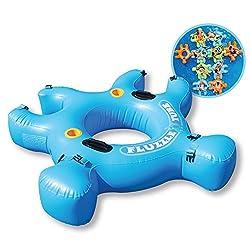Fluzzle Tube- Blue