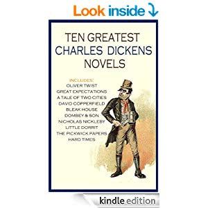 THE TEN GREATEST CHARLES DICKENS NOVELS