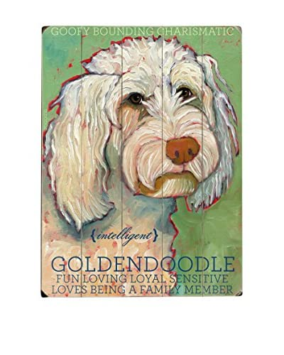 Artehouse Goldendoodle Wood Wall Décor
