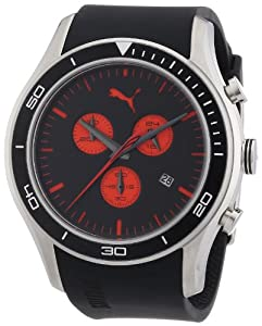 Puma PU102651001 Ride Chrono Black Watch