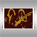 LED ZEPPELIN CD TRIBUTE A1 CANVAS ART PRINT POSTER