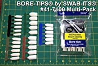 Bore-tips® Multi Size Package Gun Cleaning Kit 28 Cleaning Tips: 41-7100