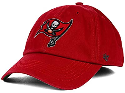 Tampa Bay Buccaneers 47 Brand Franchise Red Fitted Hat Cap