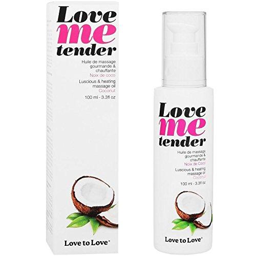 LOVE TO LOVE ME TENDER MASSAGGIO CALDO E COCCO SAPORE 100ML