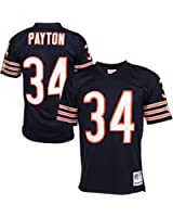 Walter Payton Chicago Bears Dark Navy Throwback Jersey
