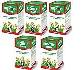 Tisane Richters Minceur -Offre Speciale-Cure de 3 mois 5 boites +1 OFFERTE -Tisane Richters