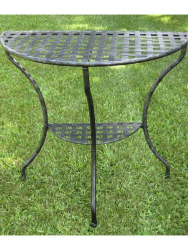 Antique Iron Table front-1057730