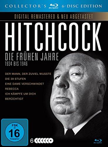 Alfred Hitchcock - Die frühen Jahre - 1934 bis 1946 [Blu-ray] [Collector's Edition]