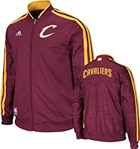 Cleveland Cavaliers adidas Home Weekday 2012-2013 Authentic On-Court Jacket - Wine by adidas