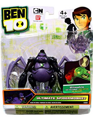 Picture of Bandai Ben 10 Alien 4 Inch Action Figure Ultimate Spidermonkey Includes Minifigure For Revolution Ultimatrix (B0058V68G6) (Ben 10 Action Figures)