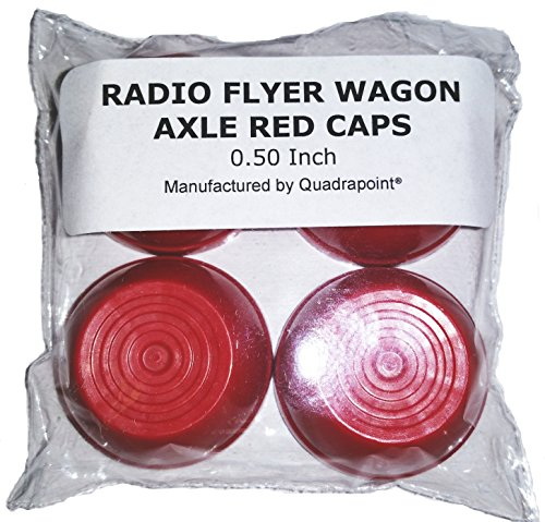 RADIO FLYER WAGON PARTS AXLE CAPS 0.50