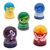 Disney Store Deluxe Inside Out Lip Balm Set Fear Sadness Disgust Fear