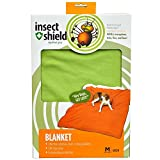Insect Shield Insect Repellent Dog Blanket, 56 by 48-Inch, Green
