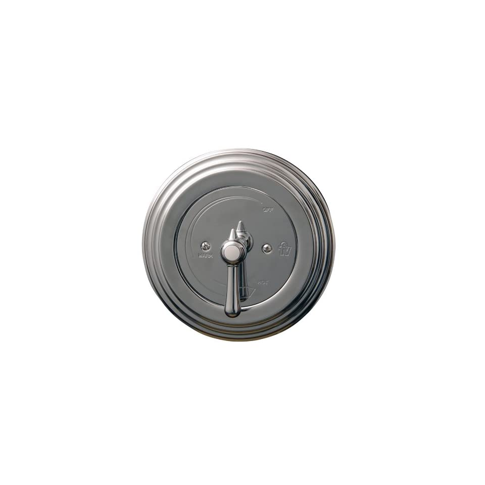 Barclay Denisse Polished Chrome 1 Handle Tub & Shower Faucet with Single function Showerhead U117/64LCR