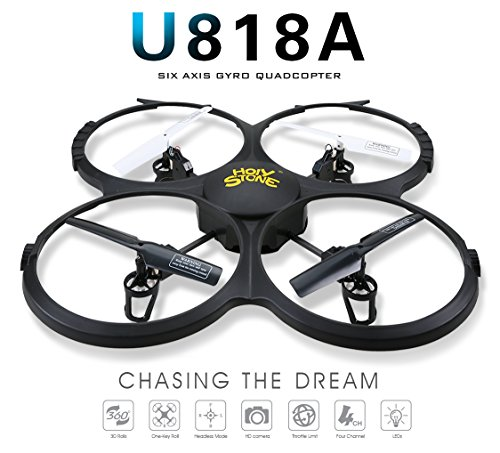 Drone with HD Camera,Holy Stone RC Drone Quadcopter with HD Camera Headless Mode,One Key Return Home and Low Voltage Alarm Function Includes Bonus Battery and Goggles (Camera Chopper Remote Control compare prices)