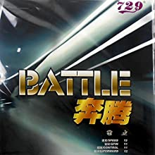 RITC 729 Friendship BATTLE Non-Tacky Pips-In Table Tennis PingPong Rubber With Sponge