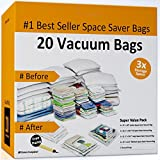 Home-Complete Vacuum Storage Bags - 20 Space Saver Bags
