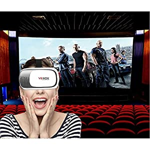 BalanceWorld VRbox virtual reality VR glasses BOX2 VR generation mobile 3D glasses for Smartphone,Samsung,iPhone, etc. by QueenAcc