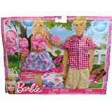 Barbie Fashionistas Outfit Collection - Barbie and Ken at a Picnic
