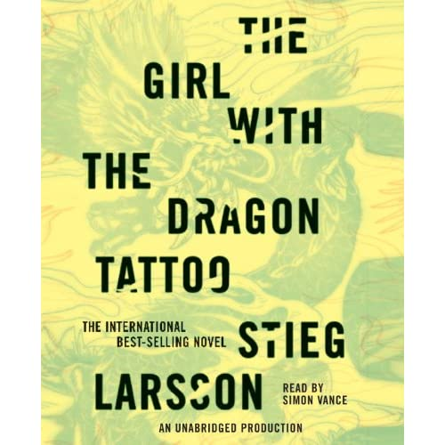 The Girl With The Dragon Tattoo Novel. The Girl with the Dragon
