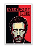 PosterGuy Everybody Lies | House MD TV Series Poster