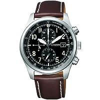 [シチズン]CITIZEN 腕時計 Eco-Drive エコ・ドライブ クロノグラフ ミリタリーモデル CA0240-09E メンズ