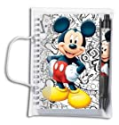 Mickey Spiral Notebook & Pen Set (10593A)