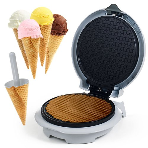 Usa Wholesaler - 82-Mm1234 - Chef Buddy Waffle Cone Maker With Cone Form