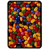 Jelly Beans Candy - Snap On Hard Protective Case for Amazon Kindle Fire HD 7in Tablet (Previous 2012 Release Version)