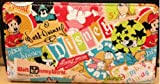 Disney Parks Bright Colorful Zip Around Wallet - Disney Parks Exclusive & Limited Availability