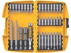 DEWALT DW2163 37-Piece Screwdriving Set with Tough Case