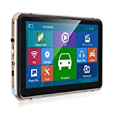 Xgody 740 7 Inch Portable Truck Car GPS Navigation Capactive Touch Screen Sat Nav Built-in 8GB ROM FM MP3 MP4 Lifetime Map