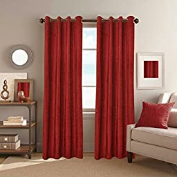 Desirica Premium Quality Woven Long Door Curtains - Set Of 2 (9 Ft)