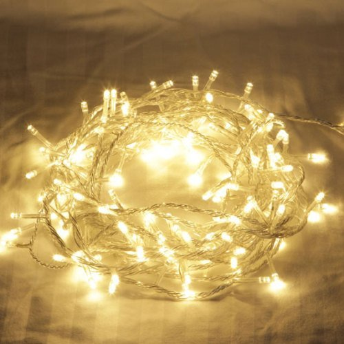 150-led-warm-white-chaser-fairy-string-tree-xmas-decoration-christmas-lights-clear-wire-new-14m