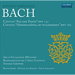 Bach: Cantatas BWV 131 and 182