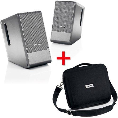 Bose Computer Musicmonitor Silver & Travel Bag