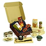 The Gourmet Gift Box - Luxury Foodie 18th 21st 30th 40th 50th 60th 70th 80th 90th Birthday Gifts, Retirement Wedding Anniversary Thank You Presents for Dad Her Him Men Women Mum Nanna Grandad Teachers Christmas Hampers