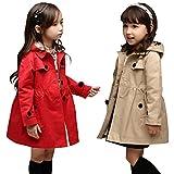 (エアナスコレクション) Eanas Collection おしゃれな 女の子に ぴったり キッズ用 トレンチ コート 子供 アウター コート 防寒着