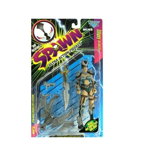 Spawn Series 6 Tiffany (Teal Repaint) Action Figure