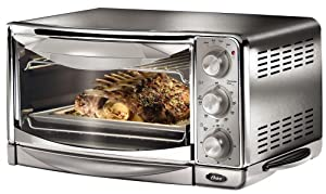 Oster 6297 6 slice convection toaster oven - Cool touch exterior convection toaster oven ...